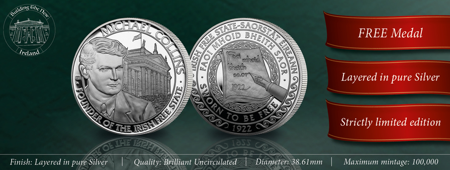 Michael Collins 80th Anniversary Commemorative Medal