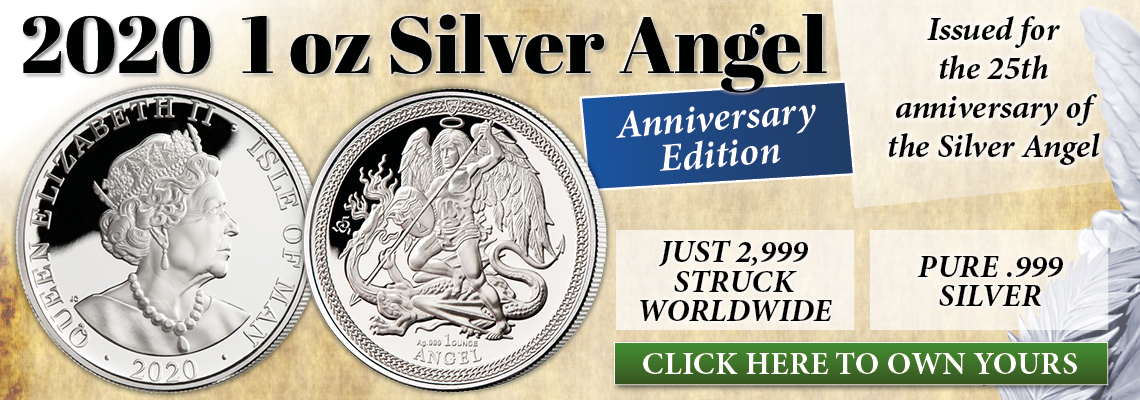 The 2020 1 oz Silver Angel