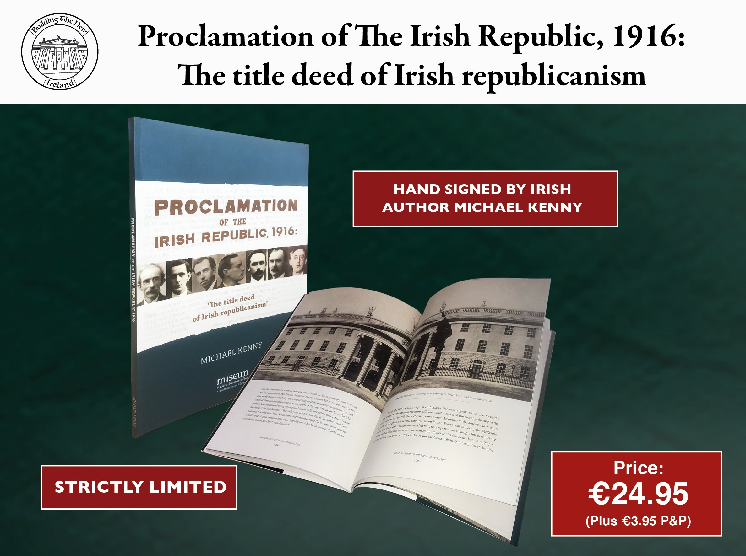 The 1916 Proclamation Book