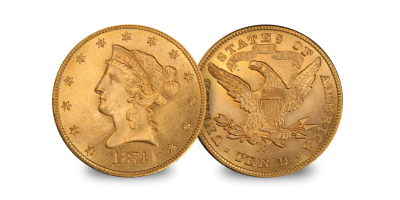$10 Eagle set Gaudens & Liberty