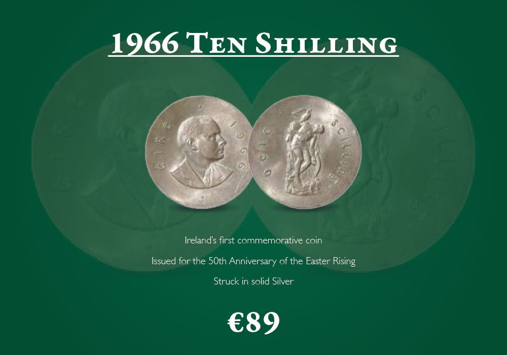 1966 Ten Shilling | The Dublin Mint Office
