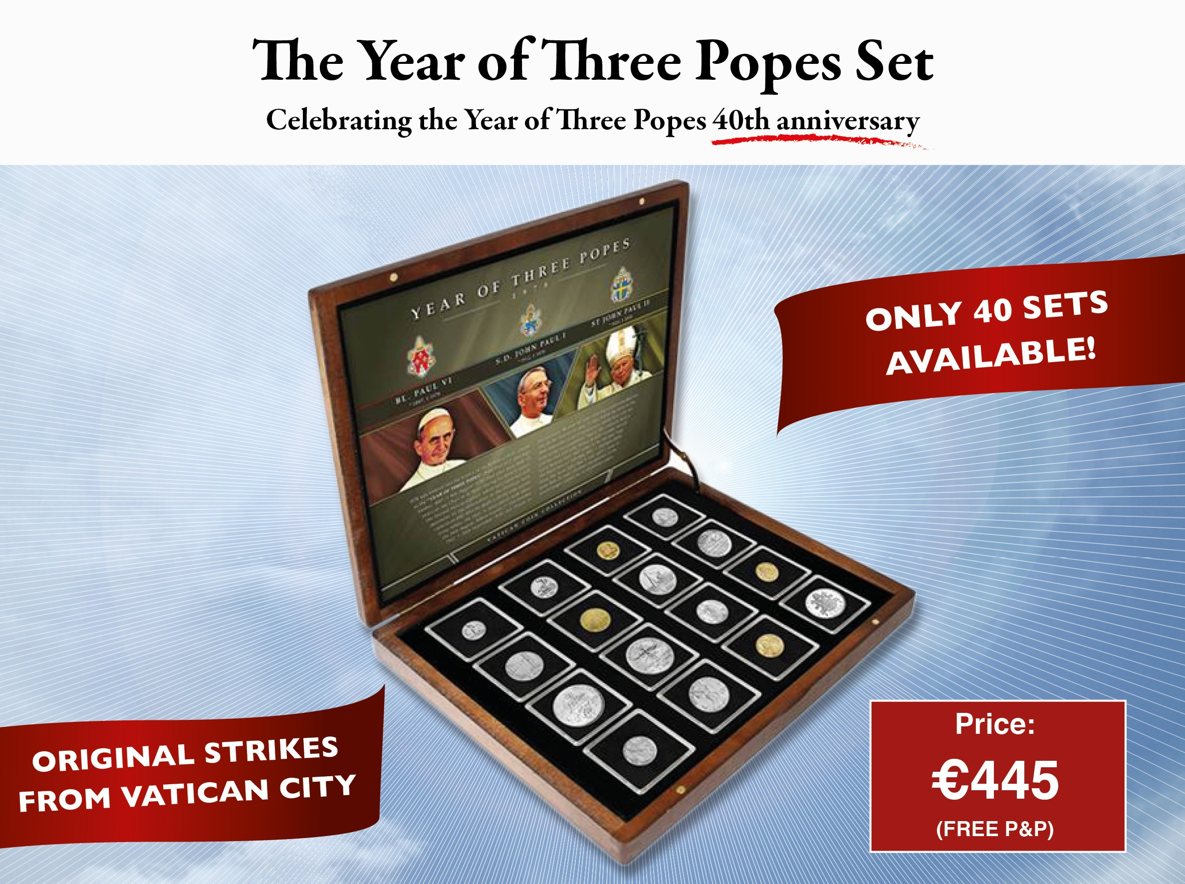 1978 Year of Three Popes Vatican Set