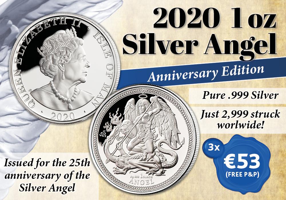 The 2020 1 oz Silver Angel