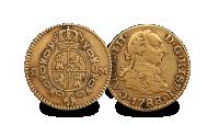 Half Escudo Coin 1788