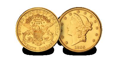 $20 Liberty (1849-1907)