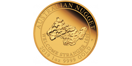 Australian Golden Nugget - 1oz.