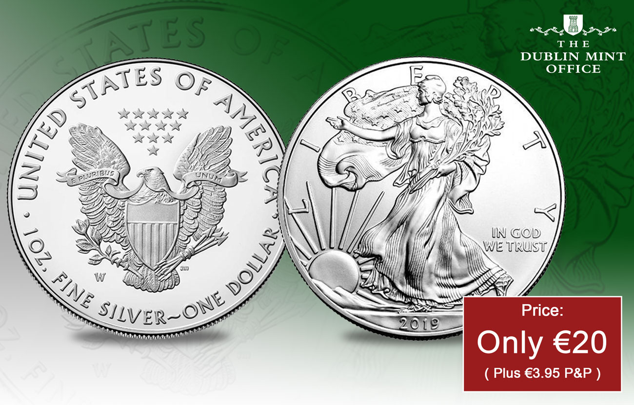 The 2019 1oz Silver American Eagle