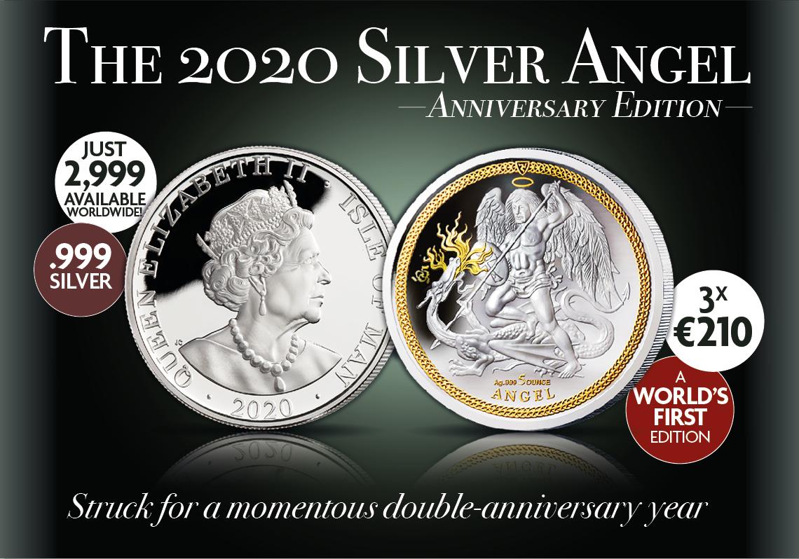 The 2020 5 oz Silver Angel