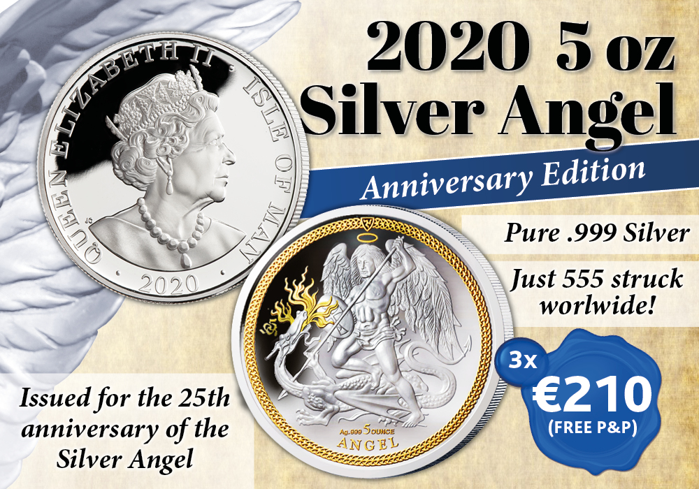 The 2020 5 oz Silver Angel