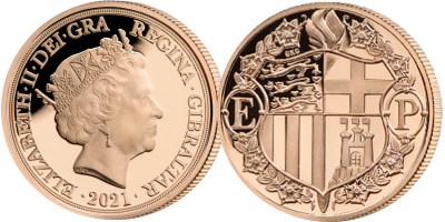 Strength & Stay, Seven Decades Of Devotion Quarter Sovereign
