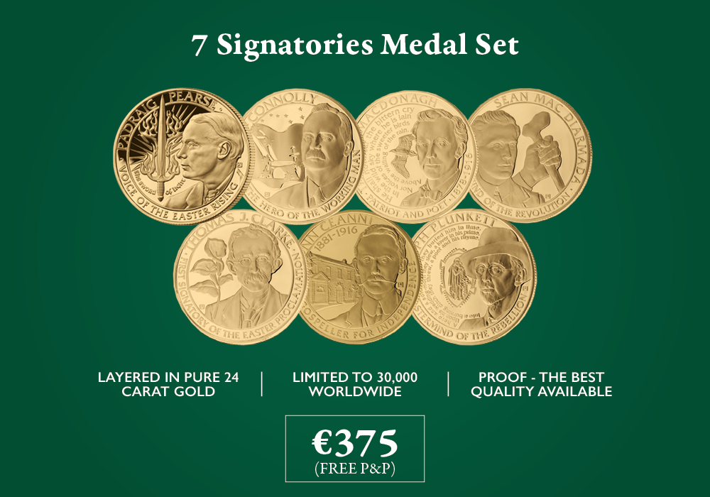 7 Signatories Medal Set | The Dublin Mint Office