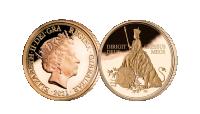 Liz__amp__the_Lion_Quarter_Sovereign__Obv__amp__Rev