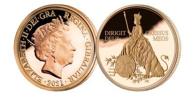 The 95 Golden Years Elizabeth II Quarter Sovereign