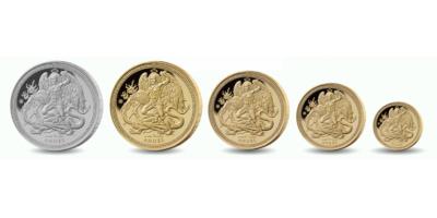 Angel 2018 5 Coin Set
