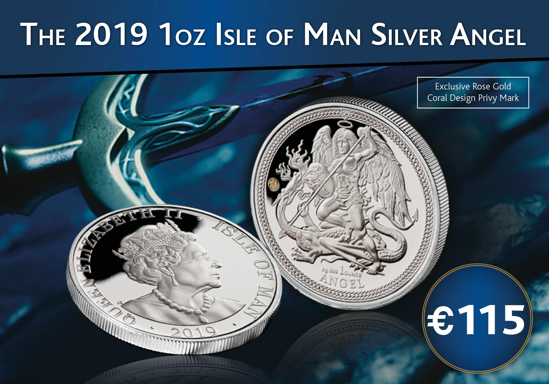 2019 Angel 1oz Silver Coin