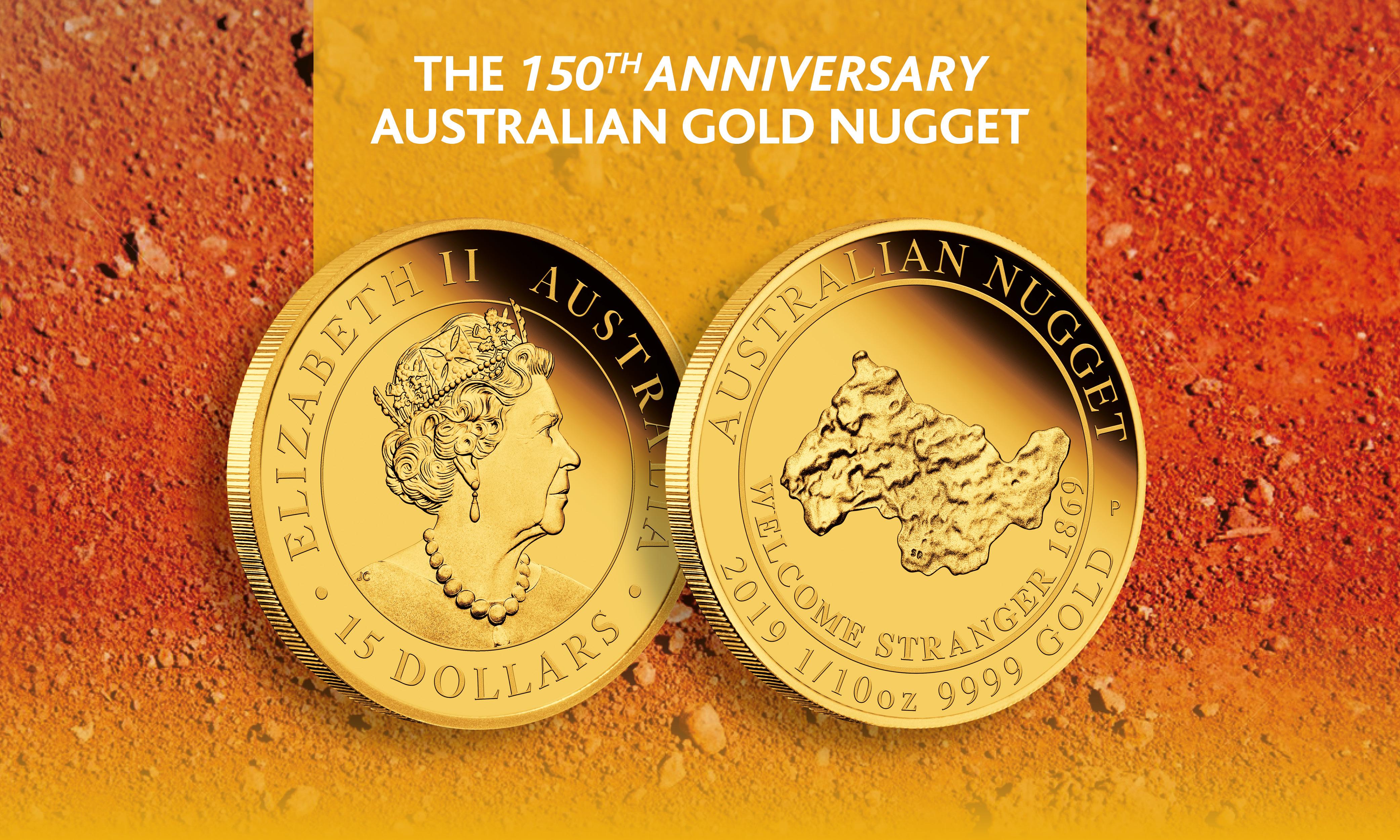 Australian Nugget 1/10oz.