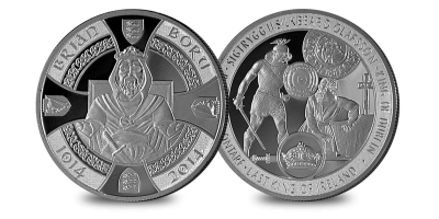 Brian Boru 1oz Palladium Medal