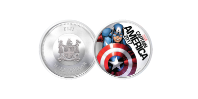 The Captain America Light Up Coin