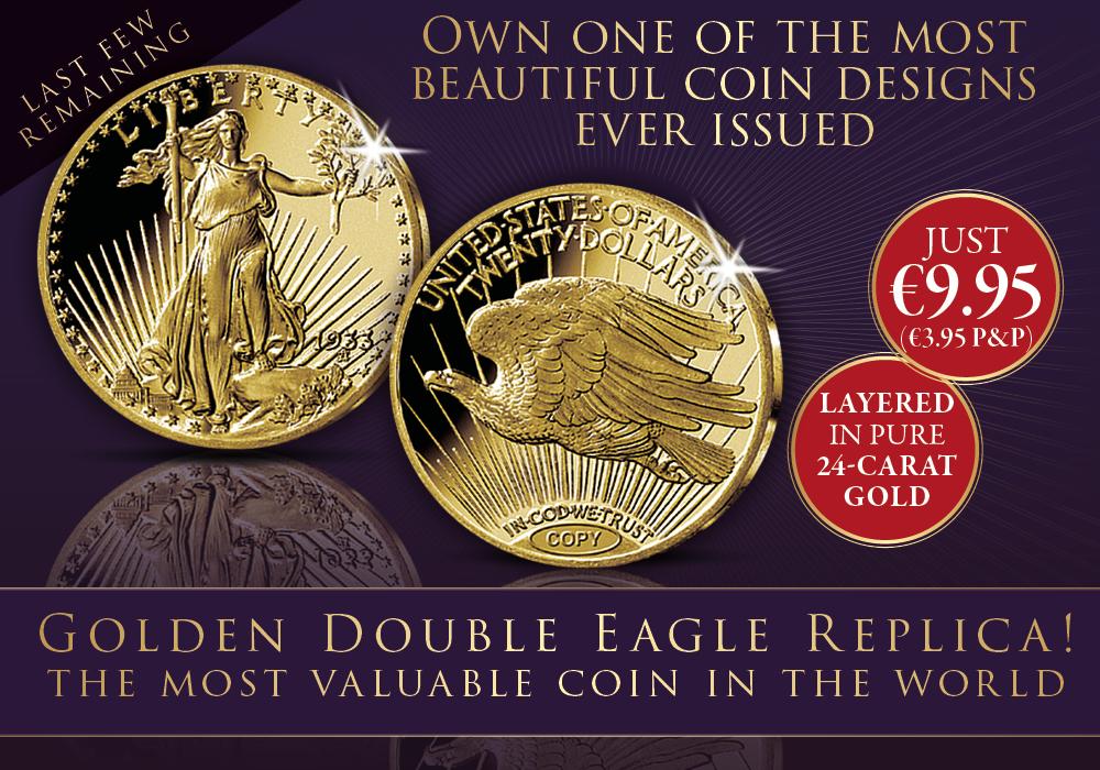 The 1933 Golden Double Eagle Replica