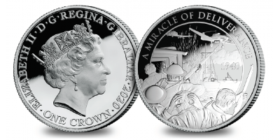 The Official Merchant Navy Association 'The Miracle' Pure Silver Coin