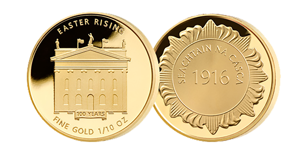 Struck in order to commemorate the 100th anniversary of the Easter Rising.
