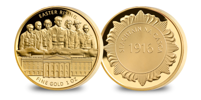 Easter Rising 1oz Gold Medal