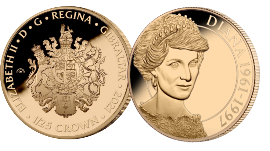 A brand new, first of its kind, Fairmined rose gold layered coin issued to mark the 60th birthday of our beloved Diana, Princess of Wales.