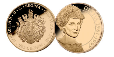 The English Rose 1/25 Crown Gold Coin