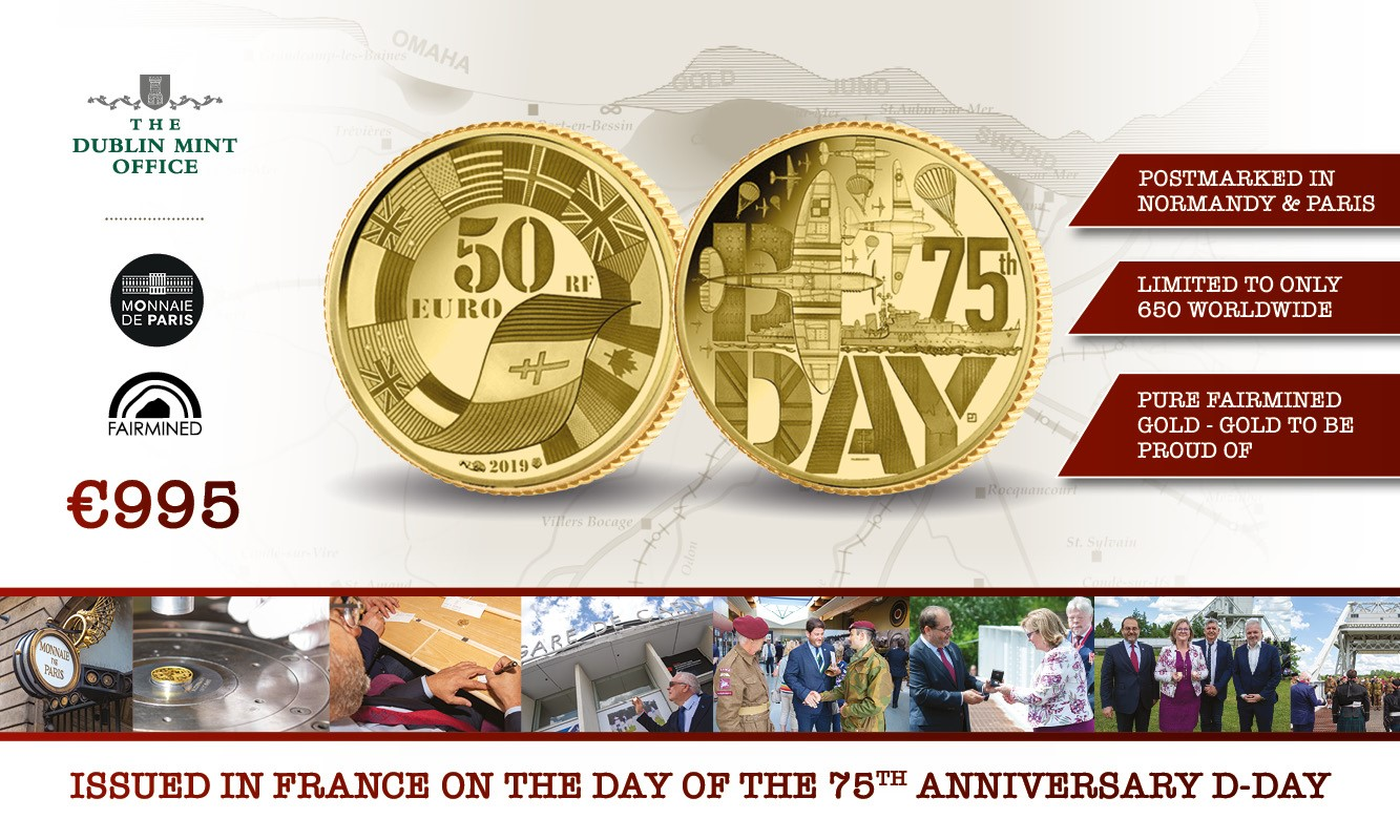 The D-Day 75 Fairmined Gold Coin