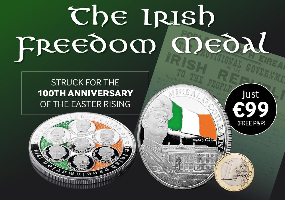 Freedom Medal | The Dublin Mint Office