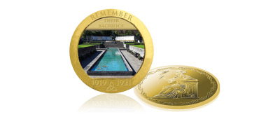 The Garden of Remembrance Photographic Medal