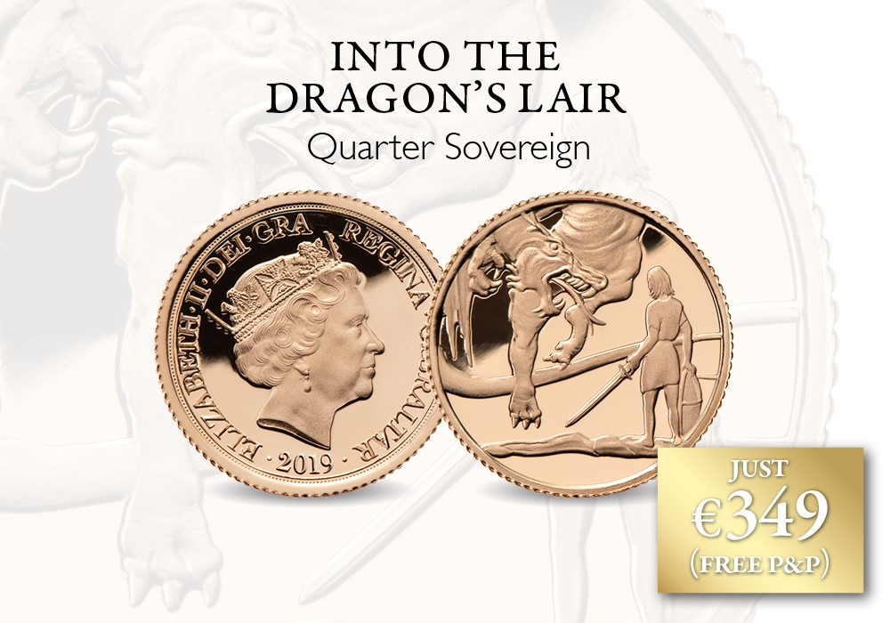Into The Dragon's Lair - Quarter Sovereign