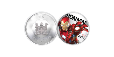The Iron Man Light Up Coin