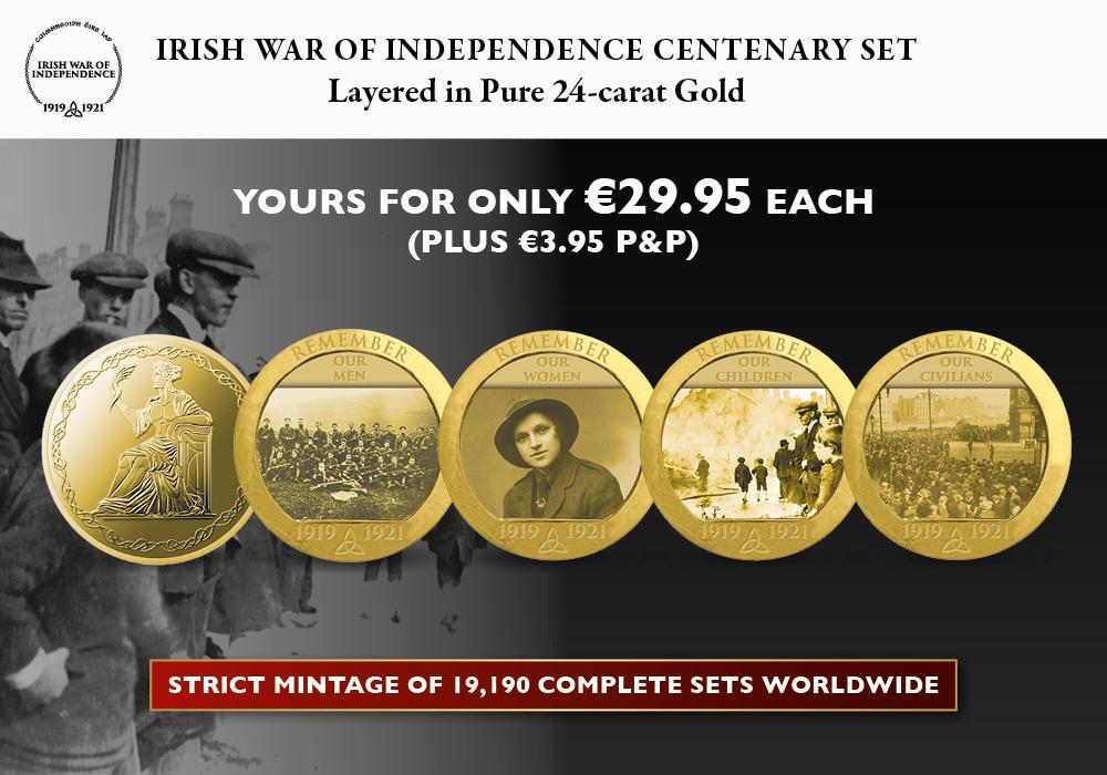 Irish War of Independence Commemorative Set