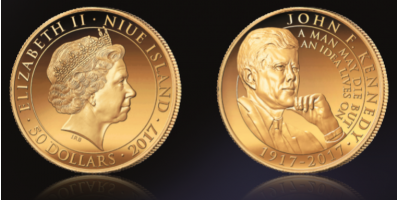 John F. Kennedy 2017 Half Ounce Gold Coin