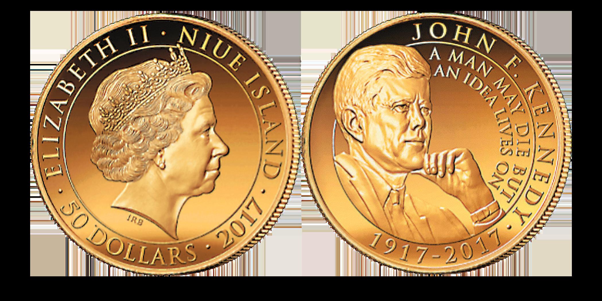 John F. Kennedy 2017 Half Ounce Gold Coin