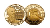 John MacBride Gold commemoration Medal