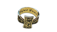 Ring of Pope John Paul II – Replica of The Ring of Fishermen.•Engraved with the phrase 'Totus Tuus' – the personal motto of Pope John Paul II