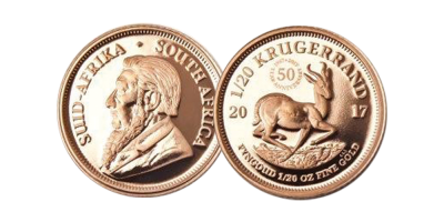 The 2017 Krugerrand 1/20oz Gold Coin