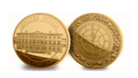 Leinster House Commemorative Gold Medal