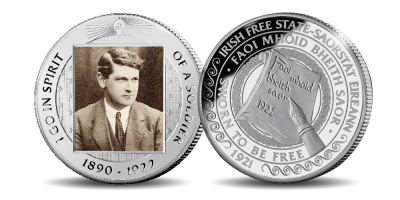 Michael Collins: The Path to Freedom Free Medal