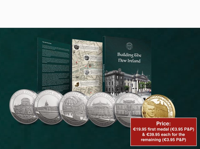 Michael Collins 80th Anniversary Commemorative Set