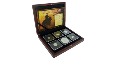 Money of The Wild West 5 Coin Set