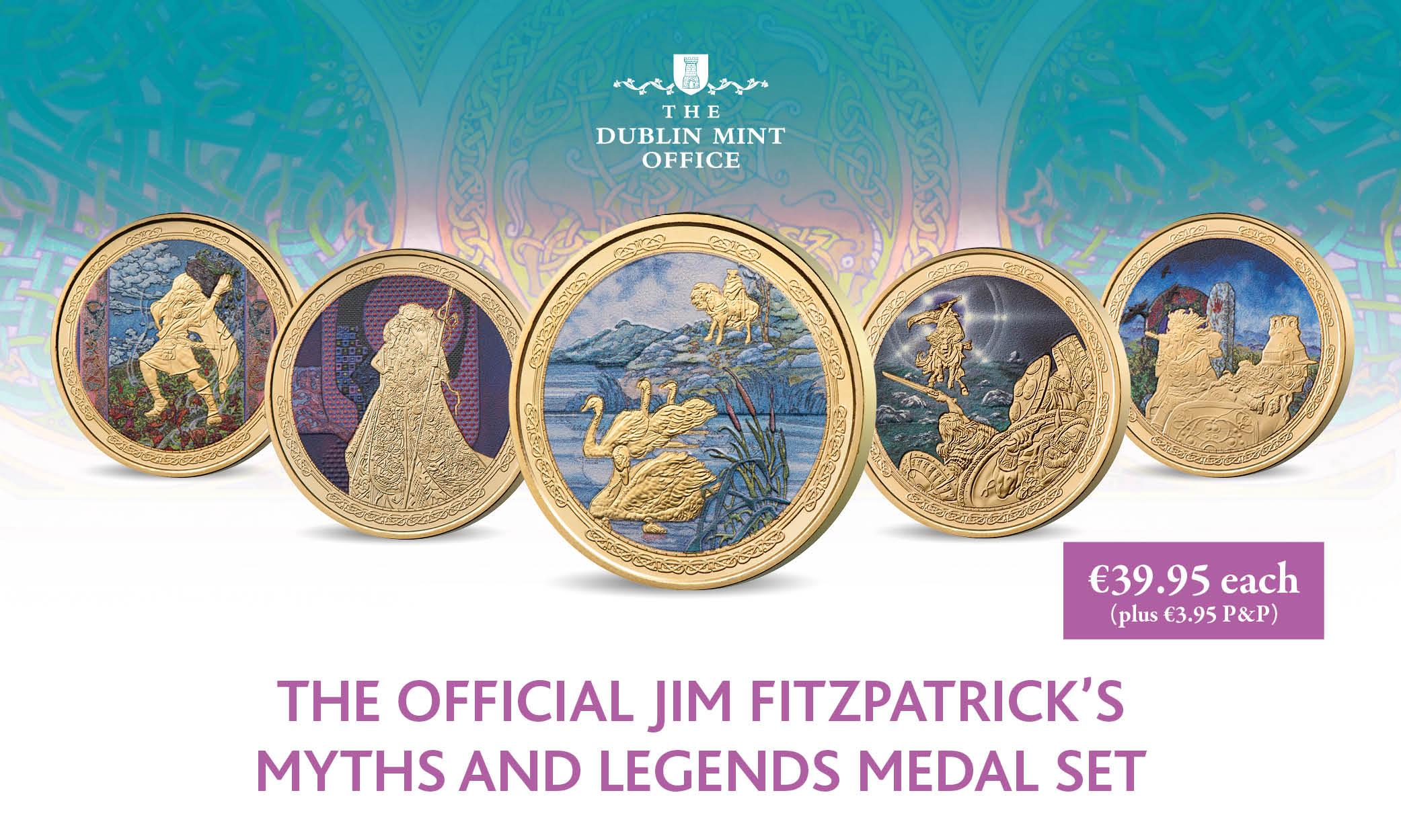 Myths and Legends Medal Set