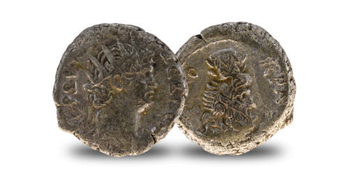 Over 2000 years old genuine Roman Silver Tetradrachme