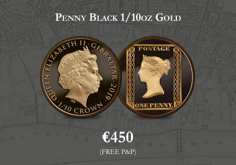 Penny Black 1/10oz. Gold | The Dublin Mint Office