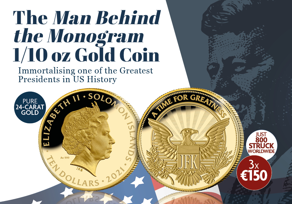 Man Behind the Monogram 1/10z Gold Coin
