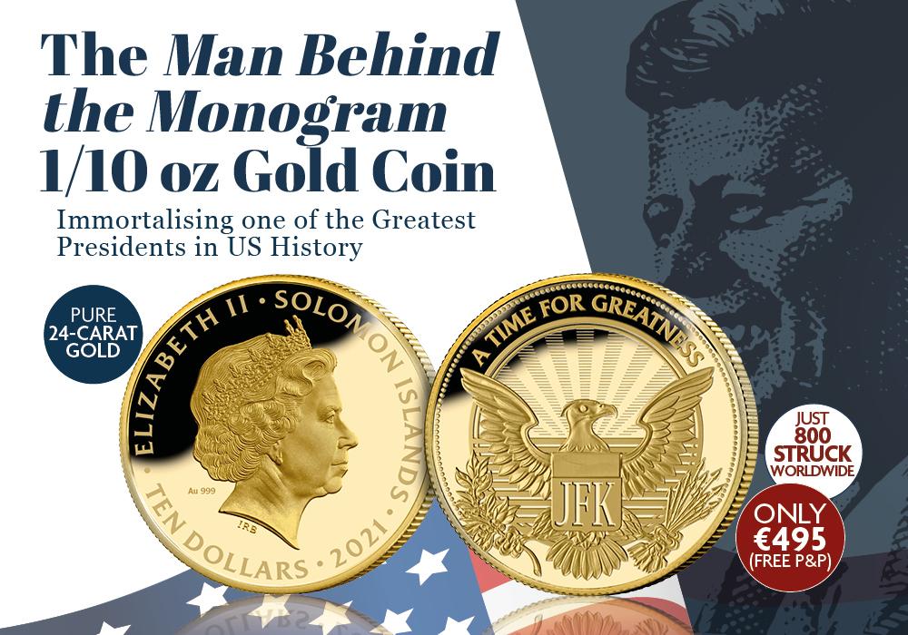 Man Behind the Monogram 1/10z Gold Coin