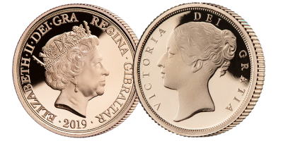 The Queen Victoria 200th Anniversary Quarter Sovereign