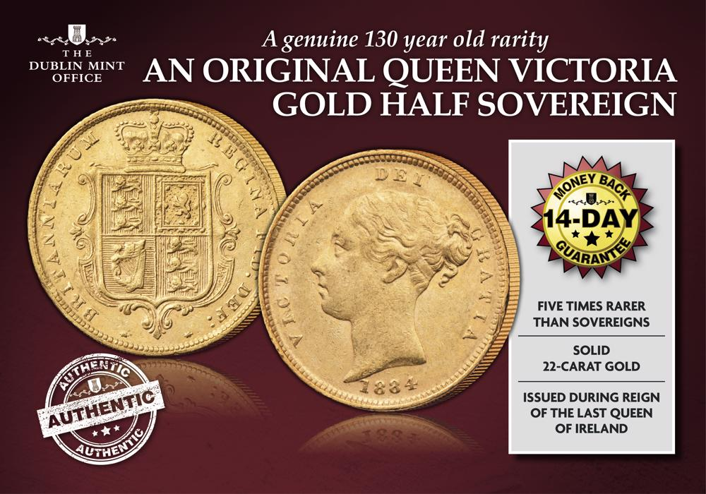 Queen Victoria Young Head Gold Half Sovereign